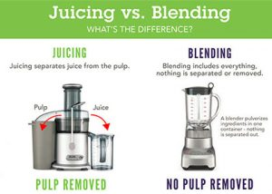 juicing vs blending: which one is better