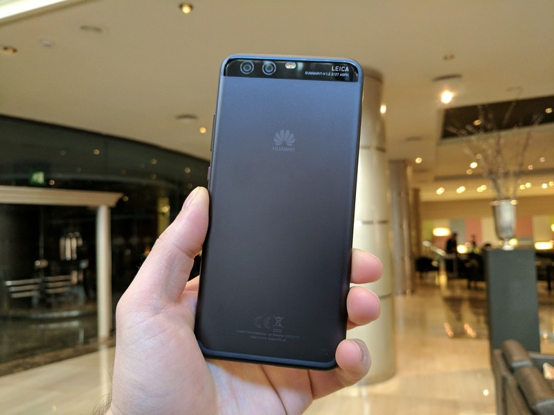 Huawei P10 Plus Design & Display