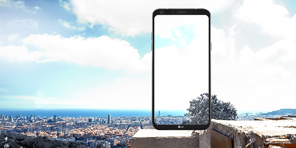 LG Q6 Bezel Less Display