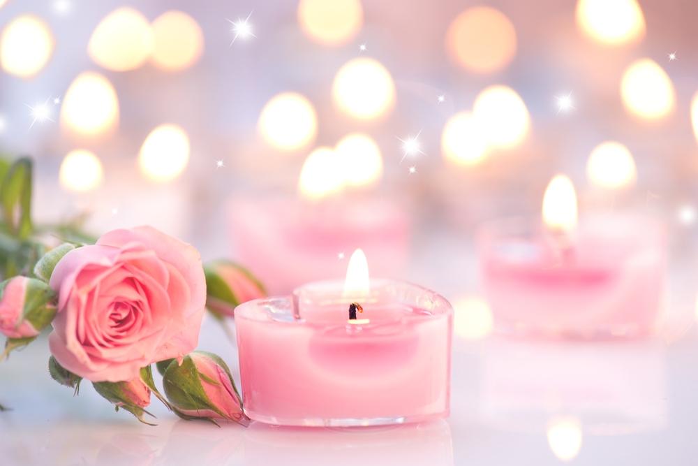 valentines day gift decorative candles
