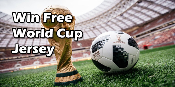 Win Free World Cup Jersey at Pickaboo